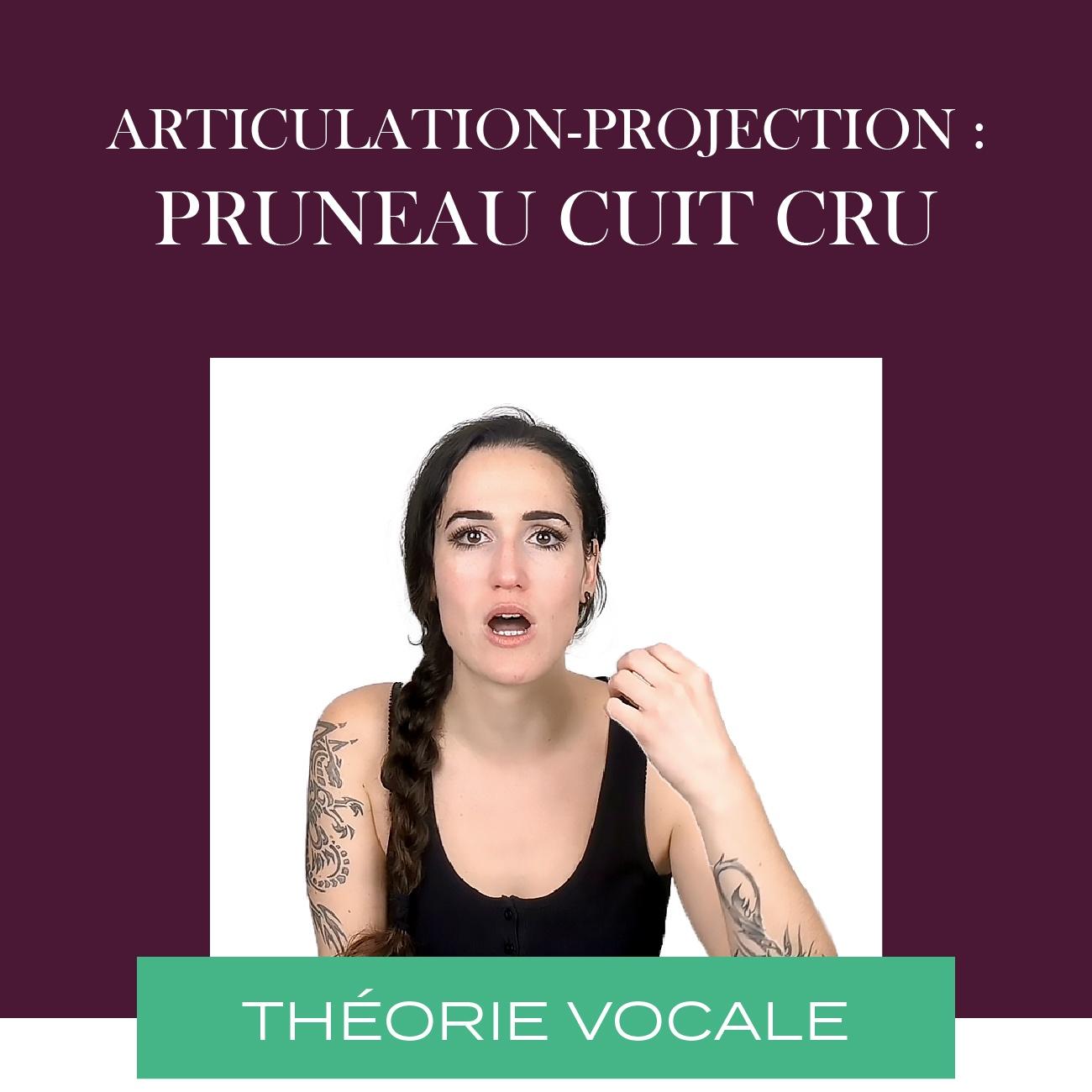 articulation et chant