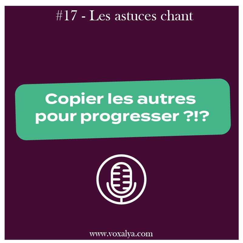 cours chant imiter